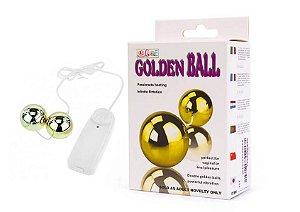 Golden Ball com controle - Bolas para Pompoar - 5242