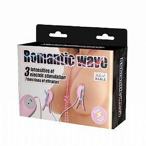 Baile Romantic Wave - Estimulador de Mamilos com Choque - 5955