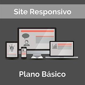 Web Site Institucional - Basico