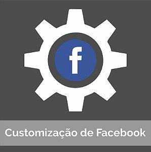 Customização de Facebook