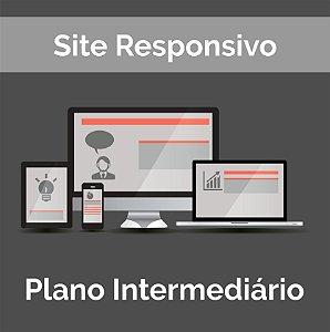 Web Site Institucional - Intermediário