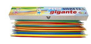 Jogo Pega Varetas Gigante - Varetas e caixa em MDF