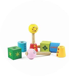 Gire e Crie Coleção Blocks - Blocos - Brinquedo Pedagógico