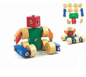 Brinquedo pedagógico Click Formas 12 peças