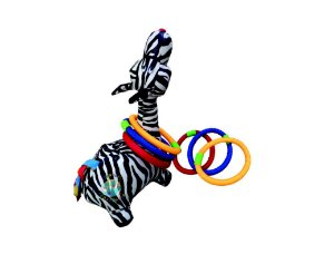 Zebra com Arcos em  fibra siliconada