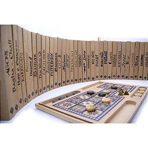 Enciclopédia Jogos - Coleção com  36 Jogos de vários Países
