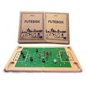 Futebox -  Futebol De Botão -  Tabuleiro Em Madeira - Mitra