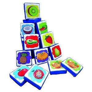Jogo da Memória Gigante - Pré Escola - Figuras de Frutas
