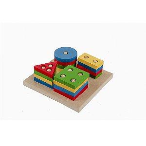 Brinquedo Pedagógico - Prancha de Seleção Colorida  Carlu - RR002061