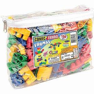 Brinquedo de Encaixe - Conectando Formas 150 Peças