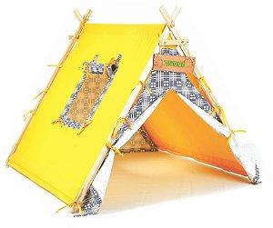 Barraca Amarela Acampamento NewArt Toys
