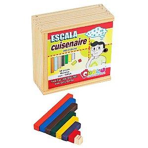 Escala Cuisenaire Individual - 68 peças