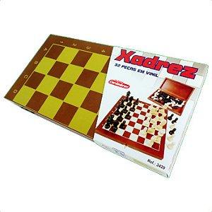 Jogo de xadrez box - Carimbras