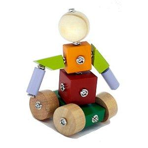 Brinquedo Educativo Click Formas 12 peças