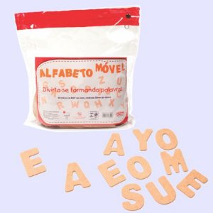 Alfabeto Móvel 40 Letras - PDDE