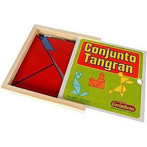 Conjunto Tangram com 70 peças