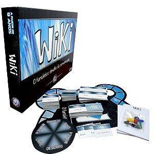 Jogo Wiki Comunicação E Mimica - Pais E Filhos