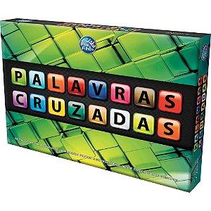 Jogo Palavras Cruzadas Brinquedo Educativo - Pais E Filhos