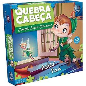 Quebra-Cabeça Peter Pan 60 peças -Pais E Filhos