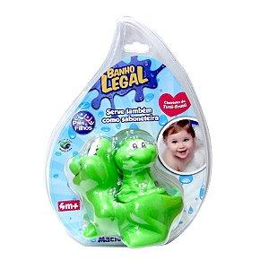 Conjunto Saboneteira Para Banho Sapa Mãe Verde - Pais E Filhos