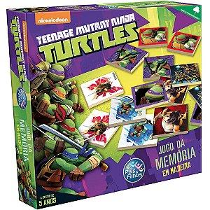 Jogo da Memória Tartaruga Ninja - Pais E Filhos