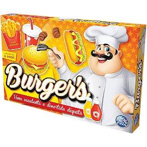 Jogo De Tabuleiro Burgers - Pais E Filhos