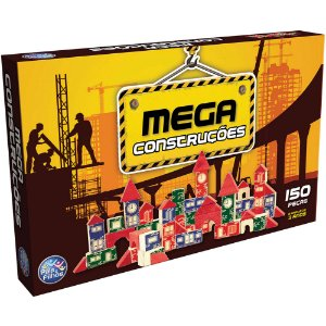Brinquedo Para Montar Mega Construções 150 Peças - Pais E Filhos
