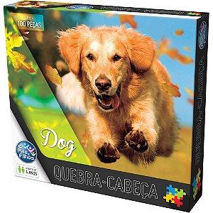Quebra-Cabeça Dog 100 Peças - Pais E Filhos