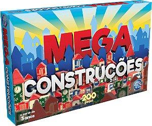 Brinquedo Para Montar Mega Construções 200 Peças - Pais E Filhos