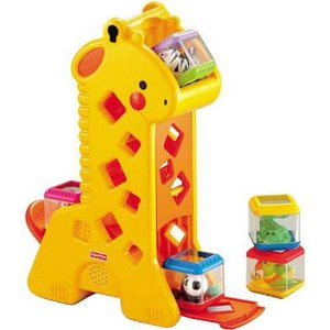Girafa Com Blocos - Fisher Price