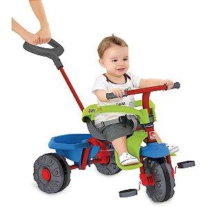 Triciclo Smart Plus Vermelho - Bandeirante