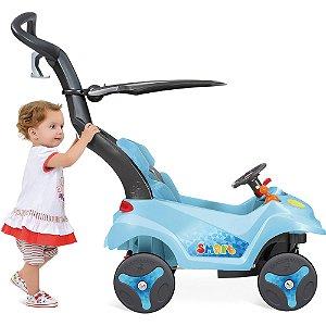Carrinho Smart Baby Reclinável Azul - Bandeirante