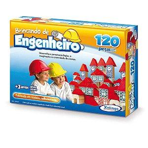 Brincando De Engenheiro 120 Peças - Xalingo