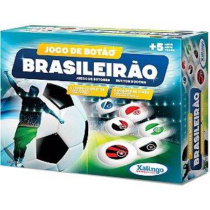 Jogo De Botão Infantil Brasileirão C/4 Times - Xalingo