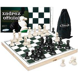 Jogo de xadrez Oficial 40x40 cm Xalingo