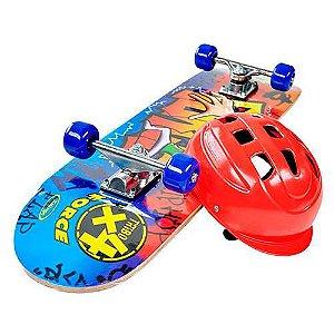 Skate Force C/Lixa E Acessórios Xalingo
