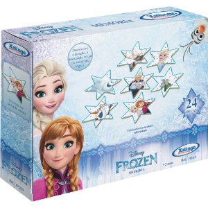 Jogo Da Memória Frozen 24 Peças Madeira - Xalingo