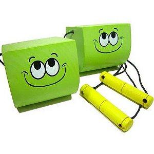 Equilibrista Verde Madeira NewArt Toys