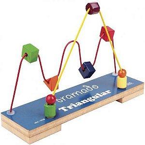 Aramado Triangular Com 2 Circuitos e 9 Peças - Carlu