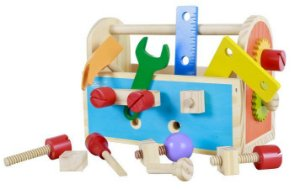 Gire e Crie Caixa De Ferramentas - NewArt Toys