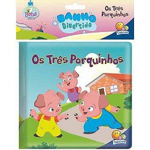 AMIGUINHOS  LIVRO DE BANHO: OS 3 PORQUINHOS