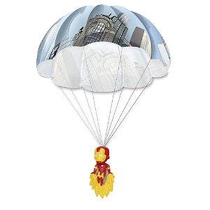 Parachuters 3d Marvel - Homem De Ferro - Candide