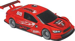 Carrinho Hot Wheels Evil Racer Vermelho - Candide