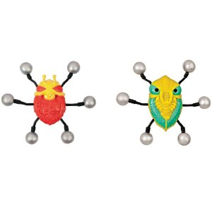 Refil - Bug Attack - Pack Com 2 Insetos Alvo - Candide