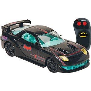 Batman Veiculo Corrida 3 Funções Candide C/controle Remoto