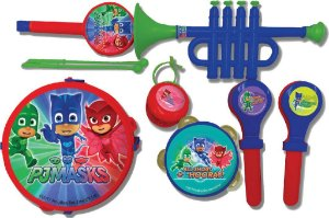 Conjunto Musical - PJ Masks - Kit Musical  Candide