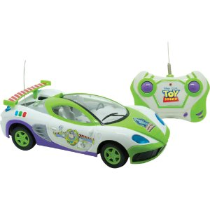 Carro Controle Remoto - Candide -Toy Story Star Race 3 Funções