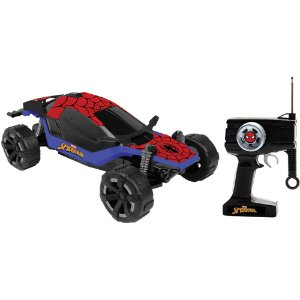 Carro com controle remoto Spider-Man Combat Cruiser 7f Candide