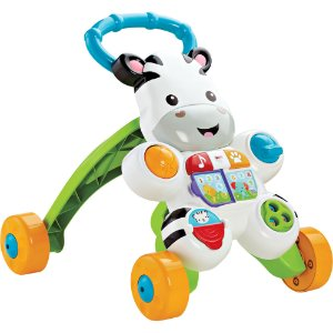 Fisher Price Apoiador Musical Zebra Mattel