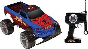 Carro Controle Remoto Spider-Man Tracker Truck 7f Candide